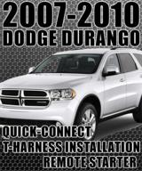 Dodge Durango Plug-n-Play Remote Starter