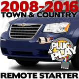 Chrysler Town and Country Plug-n-Play Remote Starter