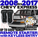 Plug Play Ready Chevrolet Express Van Remote Starter