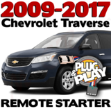 Plug Play Ready Chevrolet Traverse Remote Starter