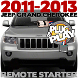 2011-2013 JEEP Grand Cherokee Plug-n-Play Remote Starter