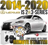 2014 through 2020 Lexus IS SERIES Plug Play Remote Starter Alarm