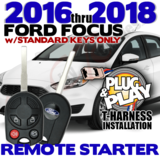 2010 through 2014 Ford Mustang Plug Play Remote Starter Alarm
