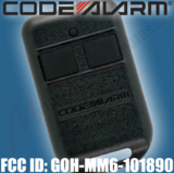 Code Alarm Chapman GOH-MM6-101890 CRCX3