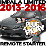 Plug Play Ready Chevrolet Impala Limited Remote Starter