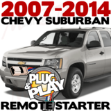 Plug Play Ready Chevrolet Suburban Remote Starter