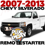 Plug Play Ready Chevrolet Silverado Remote Starter