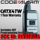 Code Alarm ELVATRGA CATX4TW Replacement Remote