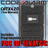 Code Alarm CATX420 ELVATCC CA440TW