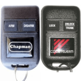 Ford Code Alarm or Chapman GOH-FRDPC2002 CATX433 Remote 2W7Z-15K601-AA