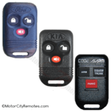 Ford Code Alarm PRO 300 Kia FCC ID GOH-4BFM2497 or FCC ID GOH-3BL98, F7AZ-15K601-AB