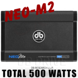 DB DRIVE Marine Grade NEO4 Class D 4 Channel Amplifier 1250 Watts