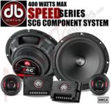 DB DRIVE S6C COMPONENT LOUDSPEAKER TWEETERS CROSSOVERS