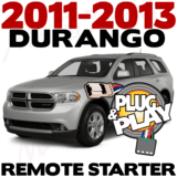 2011-2013 Dodge Durango Plug-n-Play Remote Starter