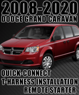 Dodge Grand Caravan Plug-n-Play Remote Starter