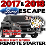 Ford Escape Plug Play Remote Starter Alarm