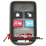Ford,remotes,Made by Code Alarm,4 Button Remote,FCC ID GOH-FOUR Part Number,1L3Z-15K601-BA