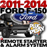 Ford F150 Pickup Plug  Play Remote Starter Alarm