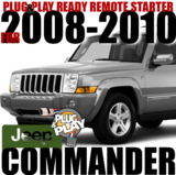 JEEP Commander Plug-n-Play Remote Starter