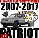 JEEP Patriot Plug-n-Play Remote Starter
