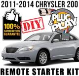 Plug Play Ready Chrysler 200 Remote Starter