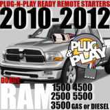 Dodge RAM Plug-n-Play Remote Starter