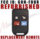 REFURBISHED Ford 4-Button Replacement Remote GOH-FOUR