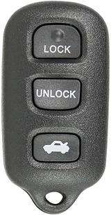 GM 3-Button Replacement Remote: FCC ID: ABO1502T