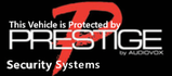 Prestige Vehicle Security Window Sticker