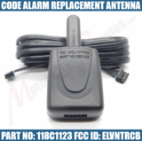 Code Alarm Replacement Antenna 118C1123 FCC ID ELVNTRCB