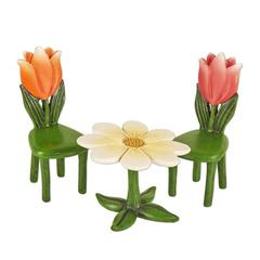 Miniature Merriment Tulip Table and Chairs Set 3