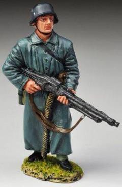 THOMAS GUNN WW2 GERMAN NORMANDY FJ006A FALLSCHIRMJAGER COLD STEEL MIB