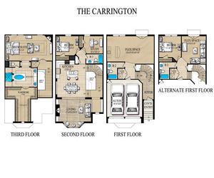 Luxury Townhomes In Lewisville Tx Floorplans