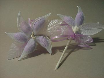 Lavender Jordan Almond Flower