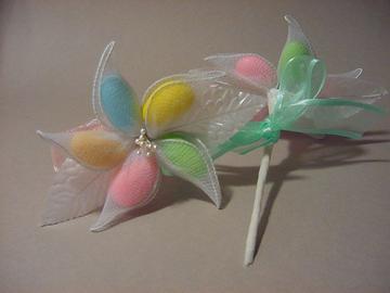 Pastel Jordan Almond Flower