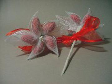 Red Jordan Almond Flower