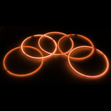glow necklaces orange