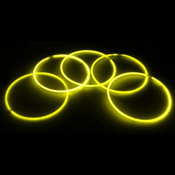 22 inch Yellow glow necklaces