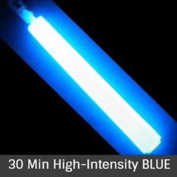 Glow Sticks - Blue 30 Min High-Intensity