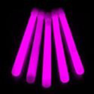 glow sticks pink slim