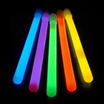 slim 6 inch glow sticks assorted