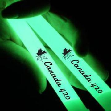 pot 6 inch glow sticks