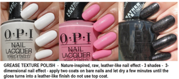 OPI Grease Leather Polish
