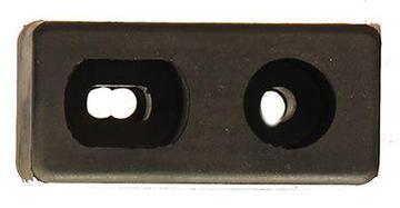 molded bumper pair