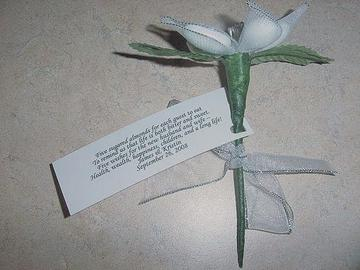 Jordan almond poem favor tag