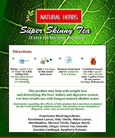 Get A Flat Stomach - Super Skinny Tea