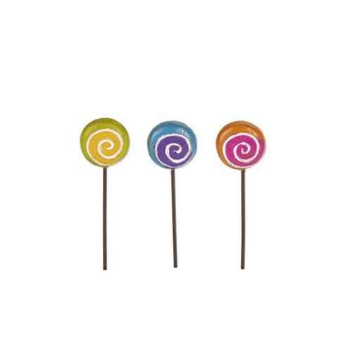 Miniature Magical Lollipop Picks Set 3 Gypsy Garden