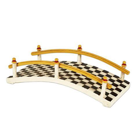 Miniature Merriment Fairy Checkered Bridge