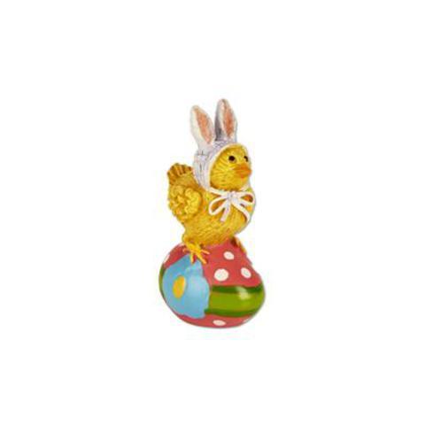 Miniature Merriment Easter Chick on Egg