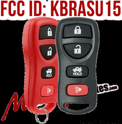 Nissan & Infiniti Replacement Keyless Entry Car Key FOB FCC ID: KBRASTU15